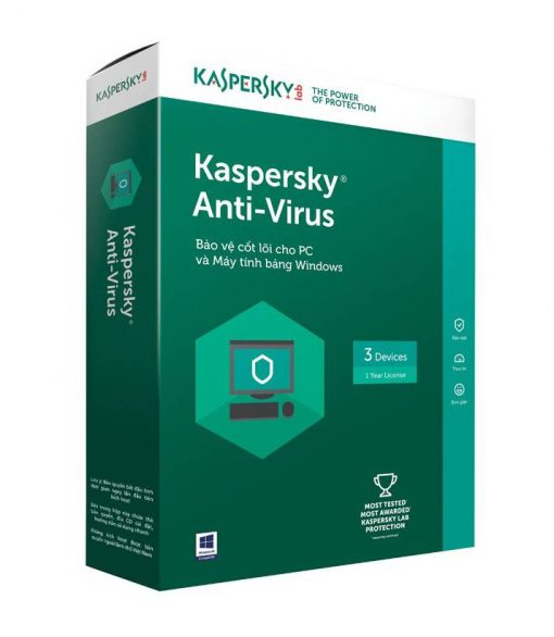 image Kaspersky Anti-Virus 3PC 1 year SOFT4U