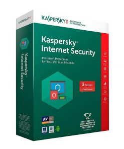 image Kaspersky Internet Security 3 PCs SOFT4U