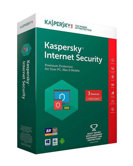 image Kaspersky Internet Security 3 PCs SOFT4U
